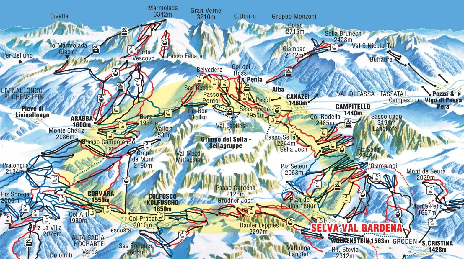 Canazei Italy Canazei Ski Holidays Ski Holidays Canazei