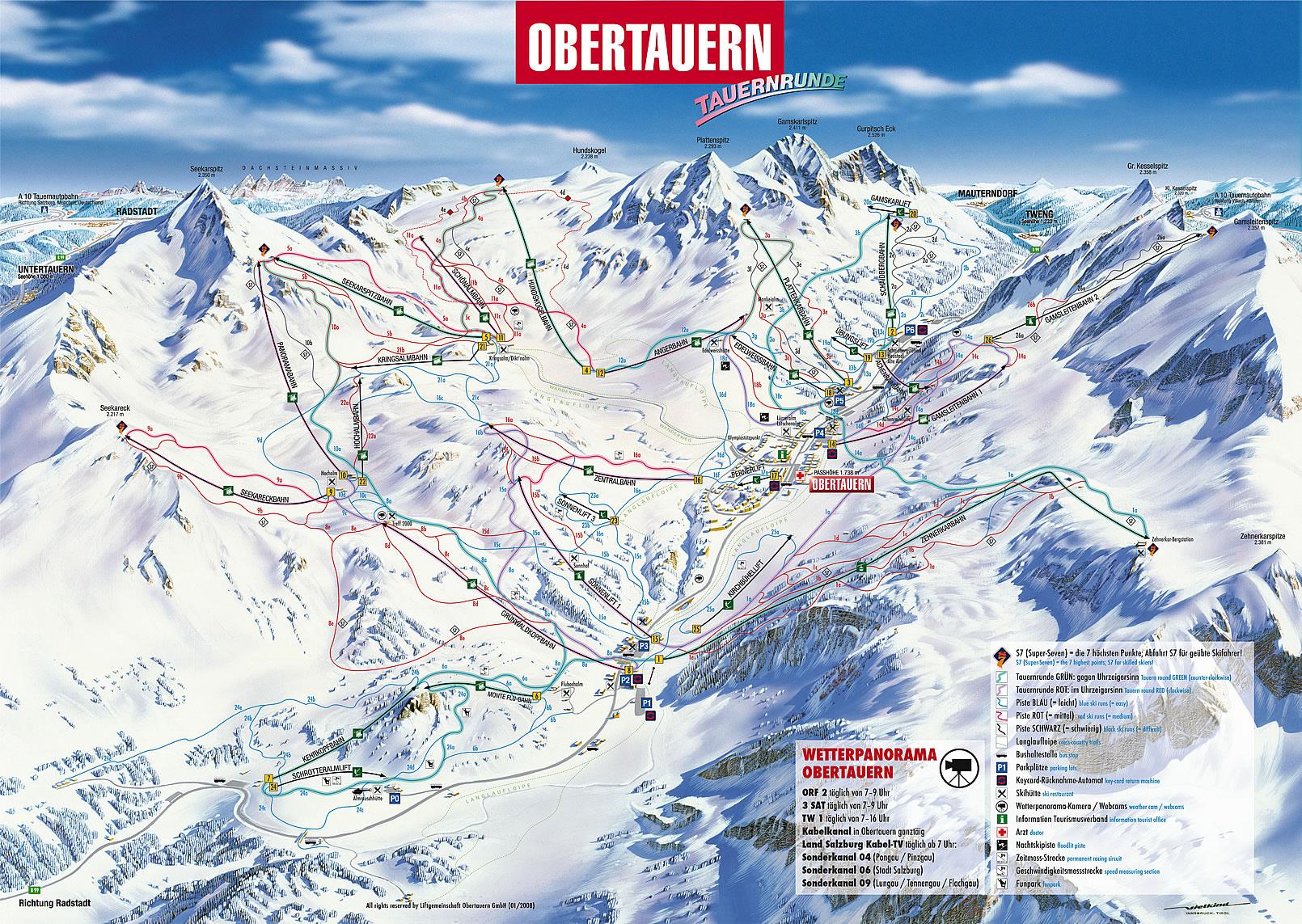 I skiing in obertauern for Design hotel obertauern