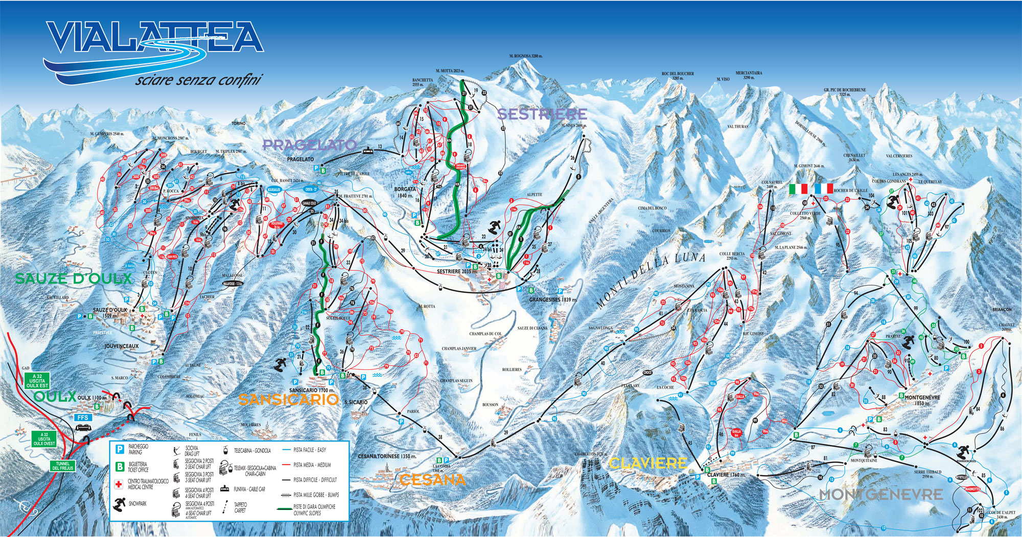 i-ski.co.uk   Hotel La Terrazza, Sauze d\'Oulx, Italy