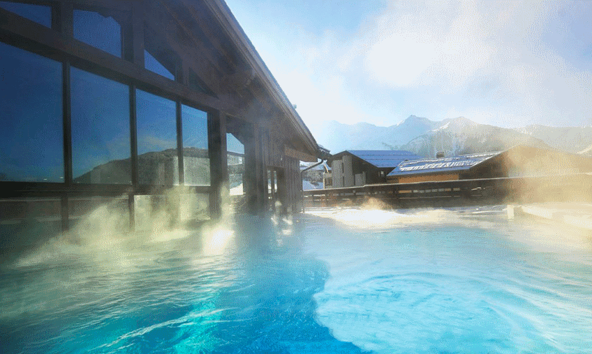 I club med peisey vallandry les arcs france - Arc swimming pool ...