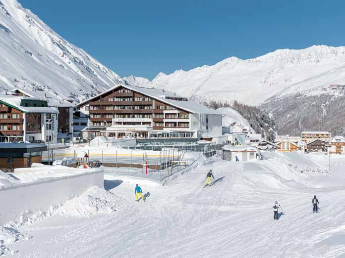 Iskicouk Hotel Alpina Sonnberg Annexe Obergurgl Austria - Hotel alpina austria