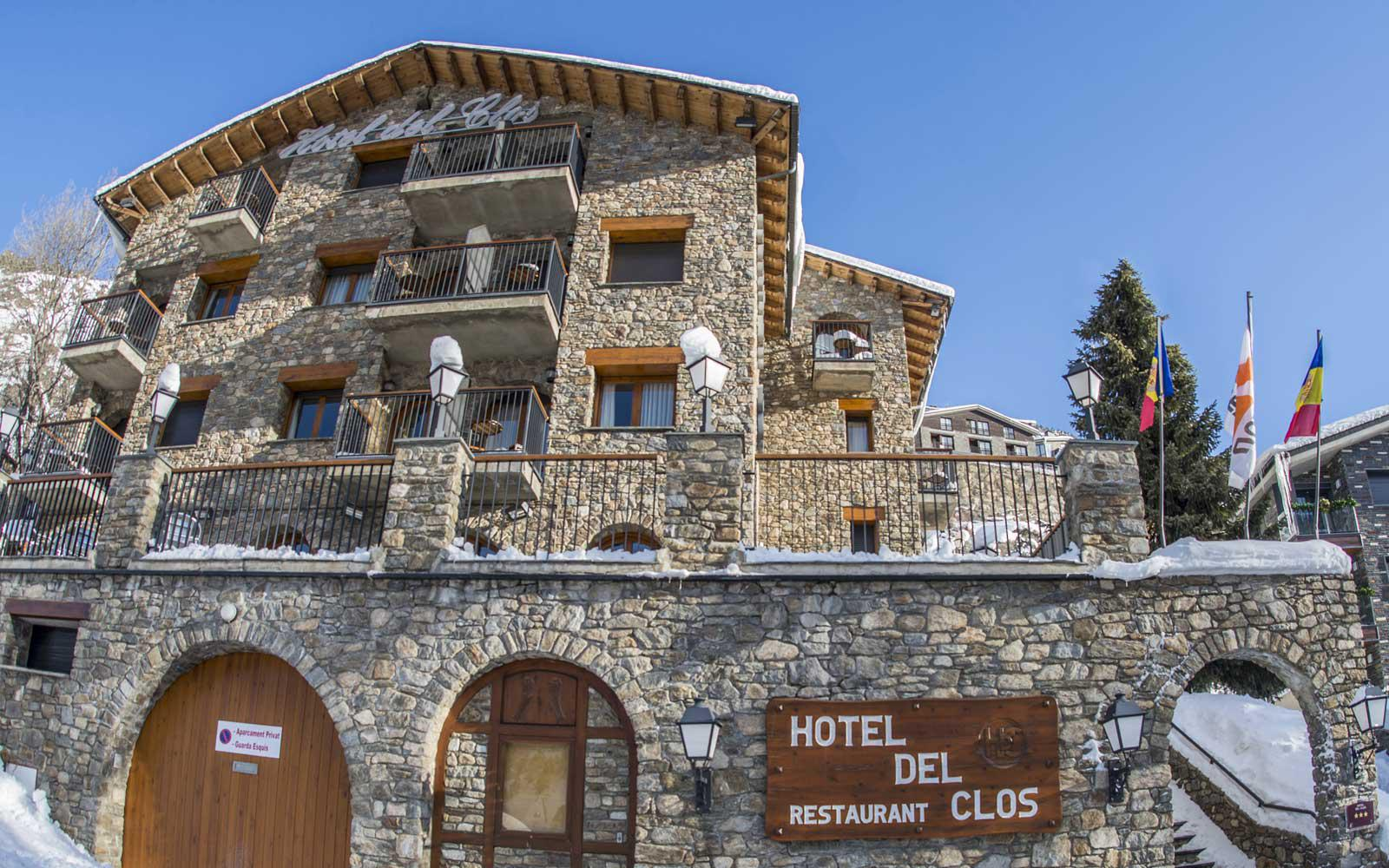 I Ski Co Uk Club Hotel Del Clos El Tarter Andorra