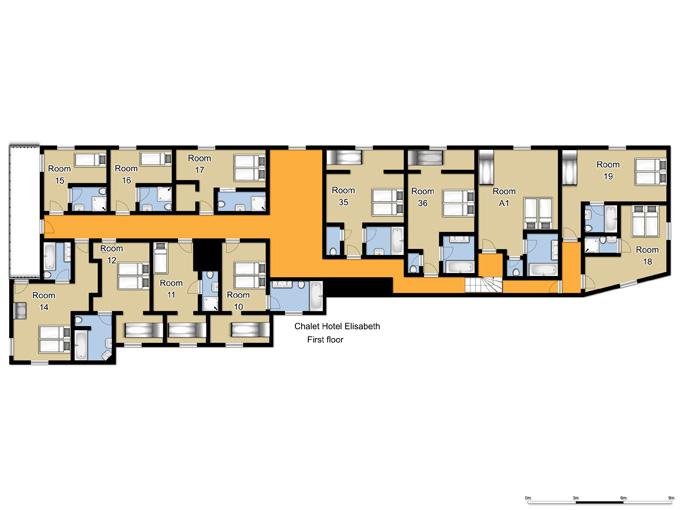 Chalet Hotel Elisabeth Lech Room Plan